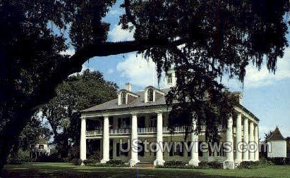 Historic houmas house - Burnside, Louisiana LA Postcard