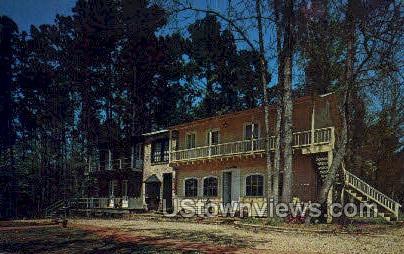 Asphodel village - Jackson, Louisiana LA Postcard