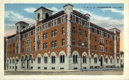Y.M.C.A. - Shreveport, Louisiana LA Postcard
