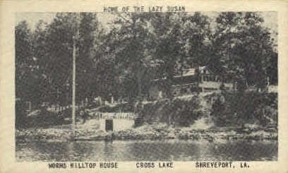 Worms Hilltop House  - Shreveport, Louisiana LA Postcard