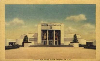 Louisiana State Exhibit Building  - Shreveport Postcard