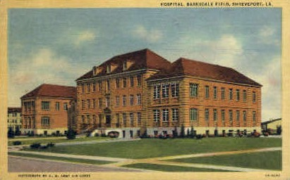 Hospital, Barksdale Field  - Shreveport, Louisiana LA Postcard