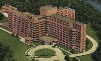 Veterans Hospital  - Shreveport, Louisiana LA Postcard