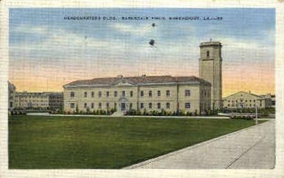 Headquarters Building, Barksdale Field  - Shreveport, Louisiana LA Postcard