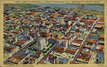 Shreveport, Louisiana, LA Postcard