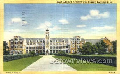 Saint Vincent's academy - Shreveport, Louisiana LA Postcard