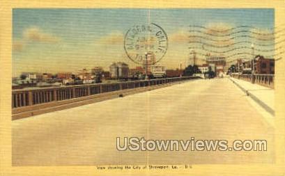 City view - Shreveport, Louisiana LA Postcard