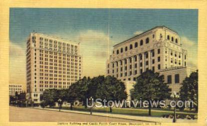 Slattery building - Shreveport, Louisiana LA Postcard