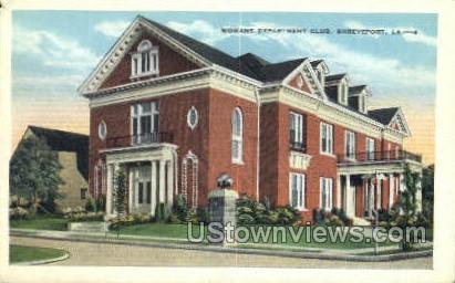 Women department club - Shreveport, Louisiana LA Postcard