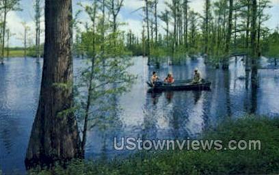 Lake Bottineau state park - Shreveport, Louisiana LA Postcard