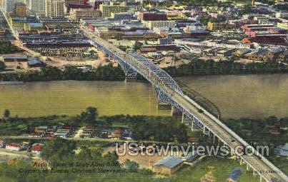Commercial industrial center - Shreveport, Louisiana LA Postcard