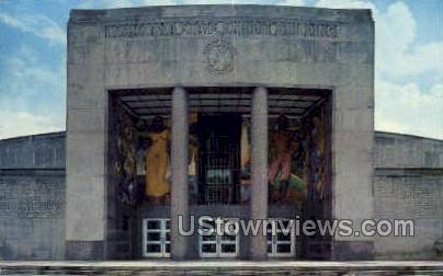 State exhibit building - Shreveport, Louisiana LA Postcard