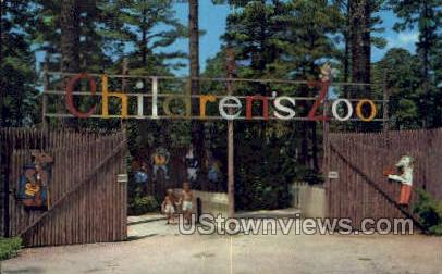 The children's zoo at ford park - Shreveport, Louisiana LA Postcard