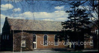 Lasell Junior College - Auburndale, Massachusetts MA Postcard