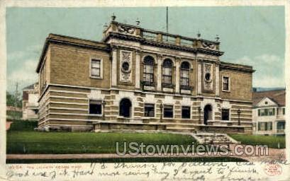The Library - Adams, Massachusetts MA Postcard