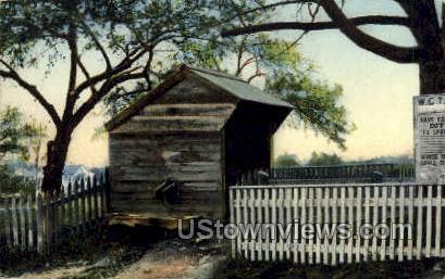 Valentine Bagley Well - Amesbury, Massachusetts MA Postcard