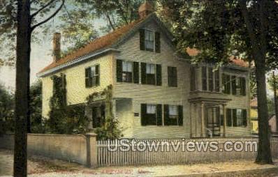 Whittiers House - Amesbury, Massachusetts MA Postcard