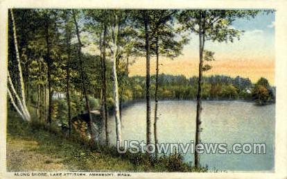 Lake Attitash - Amesbury, Massachusetts MA Postcard