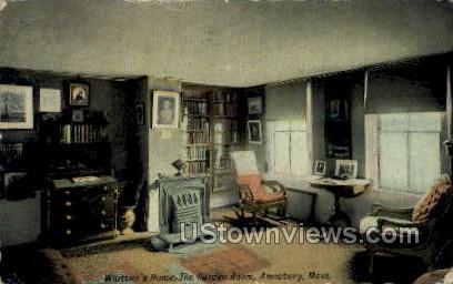 The Garden Room - Amesbury, Massachusetts MA Postcard