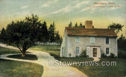 The Macy House - Amesbury, Massachusetts MA Postcard