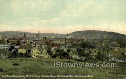 Factory District - Amesbury, Massachusetts MA Postcard
