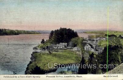 Pleasant Valley - Amesbury, Massachusetts MA Postcard