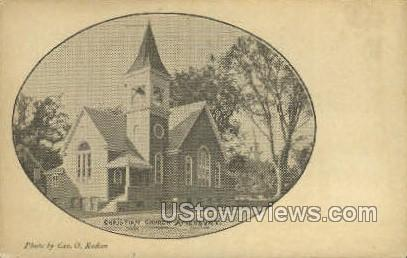 Christian Church - Amesbury, Massachusetts MA Postcard