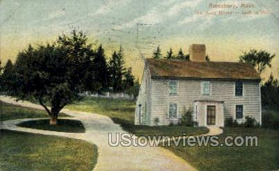 The Macy House - Amesbury, Massachusetts MA Postcard