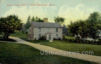 Macy House - Amesbury, Massachusetts MA Postcard