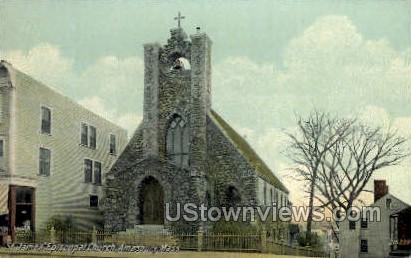 St. James Episcopal Church - Amesbury, Massachusetts MA Postcard