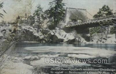 Harriet Prescott Spofford's Home - Amesbury, Massachusetts MA Postcard