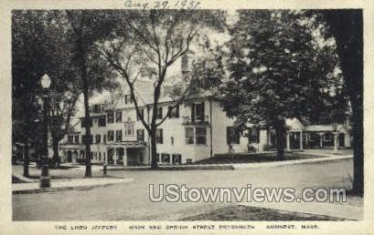 The Lord Jeffery - Amherst, Massachusetts MA Postcard