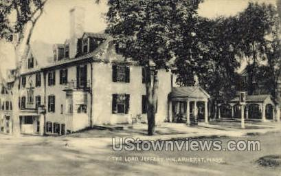 The Lord Jeffery Inn - Amherst, Massachusetts MA Postcard