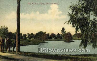 The M.A.C. Pond - Amherst, Massachusetts MA Postcard