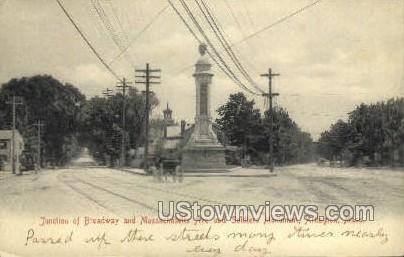 Soldiers Monument - Arlington, Massachusetts MA Postcard