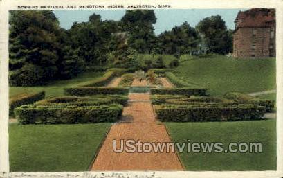 Robbins Memorial - Arlington, Massachusetts MA Postcard