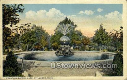 Capron Park - Attleboro, Massachusetts MA Postcard