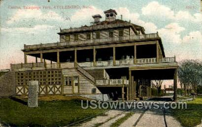 Casino - Attleboro, Massachusetts MA Postcard