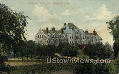 Attleboro Sanitarium - Massachusetts MA Postcard