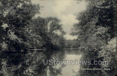 Lake View - Attleboro, Massachusetts MA Postcard