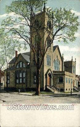 Methodist Church - Attleboro, Massachusetts MA Postcard