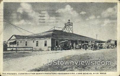 The Pavilion - Ayer, Massachusetts MA Postcard