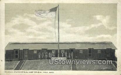 Division Headquarters - Ayer, Massachusetts MA Postcard