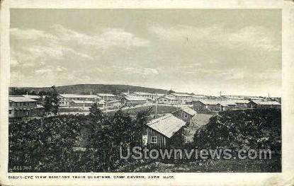 Sanitary Train Quarters - Ayer, Massachusetts MA Postcard