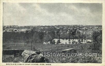 Camp Devens - Ayer, Massachusetts MA Postcard