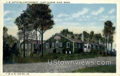 Y.M.C.A., Camp Devens - Ayer, Massachusetts MA Postcard