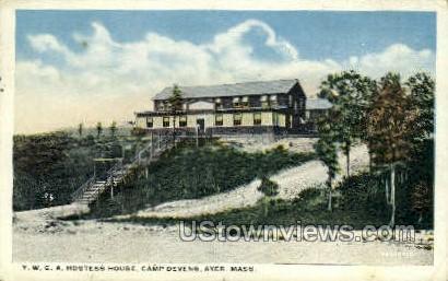 Y.W.C.A. - Ayer, Massachusetts MA Postcard