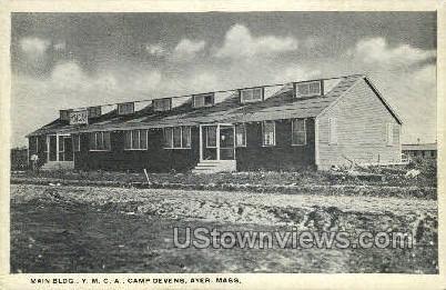 Y.M.C.A. - Ayer, Massachusetts MA Postcard
