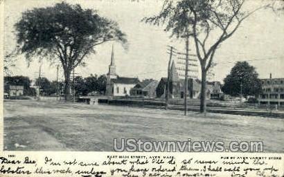 Main St., Camp Devens - Ayer, Massachusetts MA Postcard