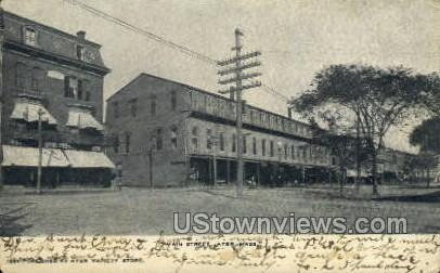 Main St. - Ayer, Massachusetts MA Postcard